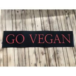 Go Vegan - Posterstrip FREE