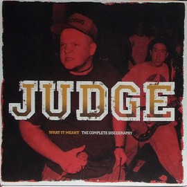 Judge - What It Meant - The Complete Discography 2LP
