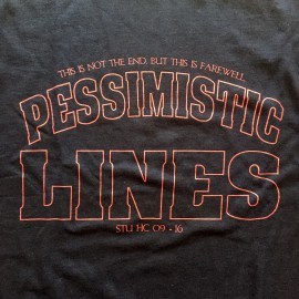 Pessimistic Lines - Farewell Shirt