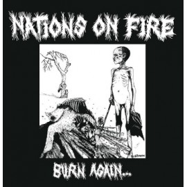 Nations On Fire - Burn Again 12""