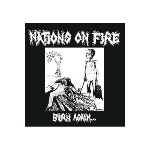 "Nations On Fire - Burn Again 12"""