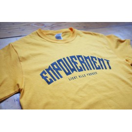 Empowerment - Liebt Alle Farben Shirt yellow/black