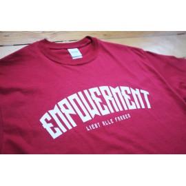 Empowerment - Liebt Alle Farben Shirt cardinal red/white