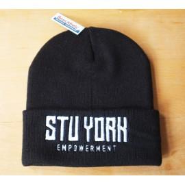 Empowerment - Stu York Beanie black/white