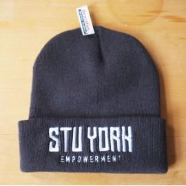 Empowerment - Stu York Beanie navy/white