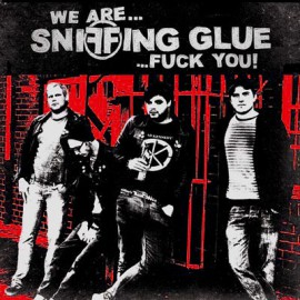 Sniffing Glue - We are Sniffing Glue.. Fuck You! LP