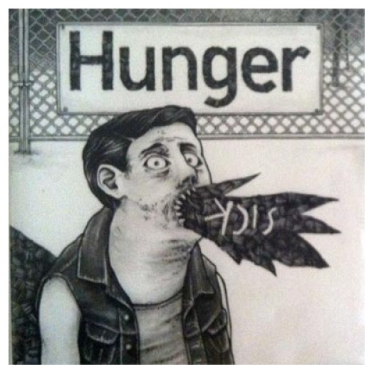 Hunger - Sick / Reparations 7""